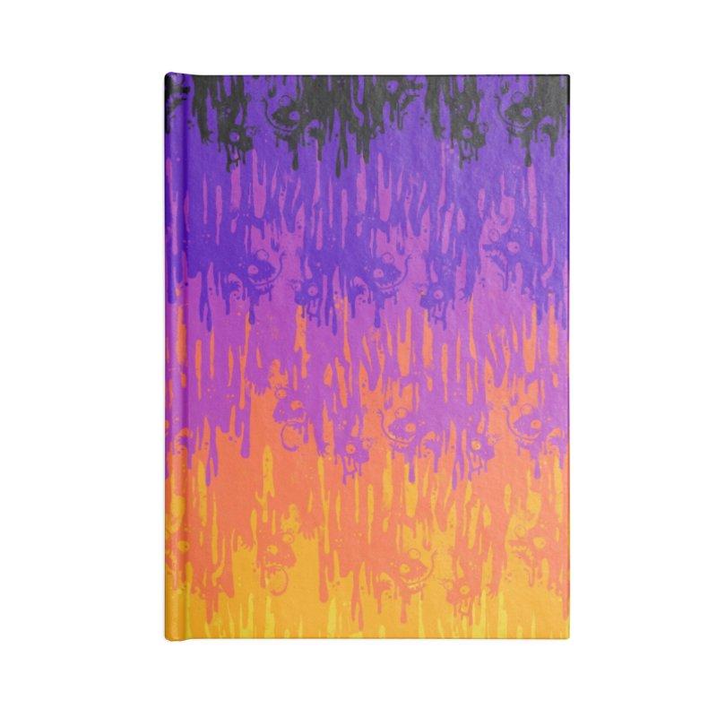 Neon Meltdown Accessories Notebook by jublin's Artist Shop