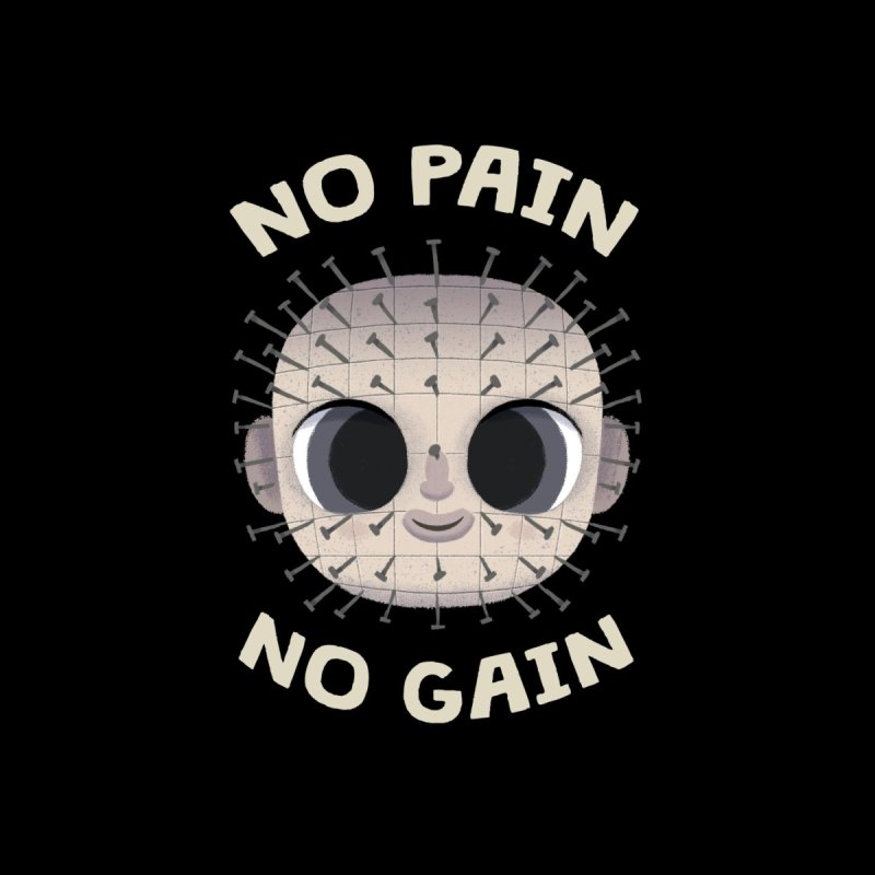 Creepy Cuties - No Pain No Gain Men's T-Shirt by jublin's Artist Shop