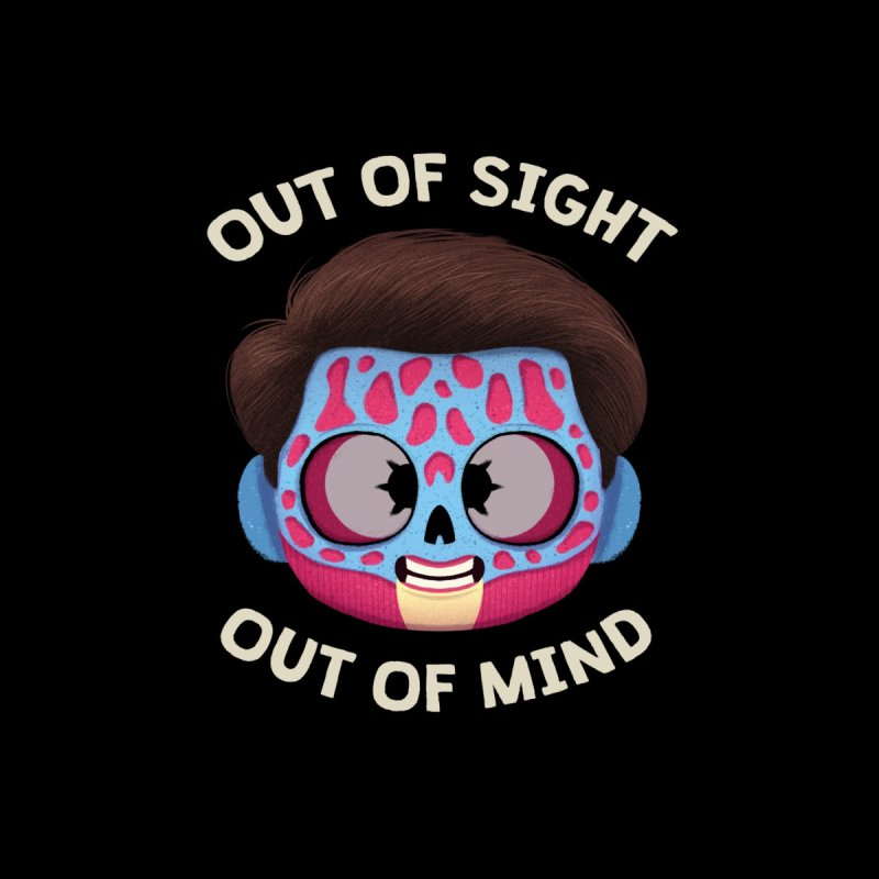 Creepy Cuties - Out of Sight Out of Mind Men's T-Shirt by jublin's Artist Shop