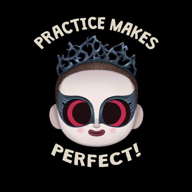 Creepy Cuties - Practice Makes Perfect Men's T-Shirt by jublin's Artist Shop