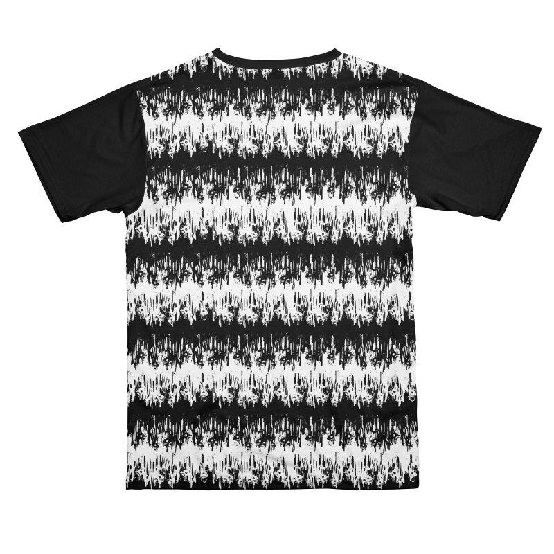 Zebra Meltdown Men's Cut & Sew by jublin's Artist Shop