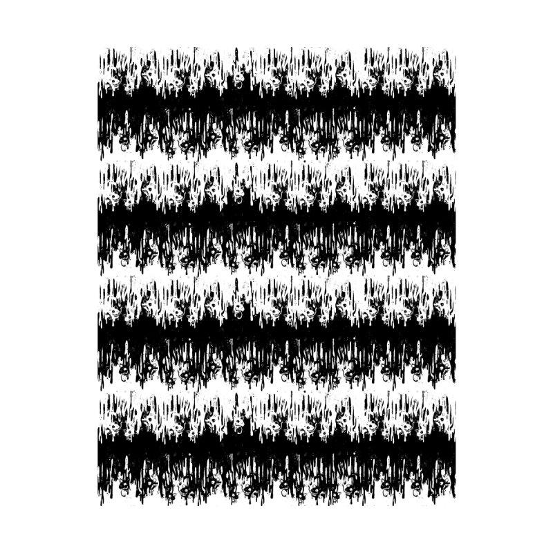 Zebra Meltdown Home Mounted Aluminum Print by jublin's Artist Shop