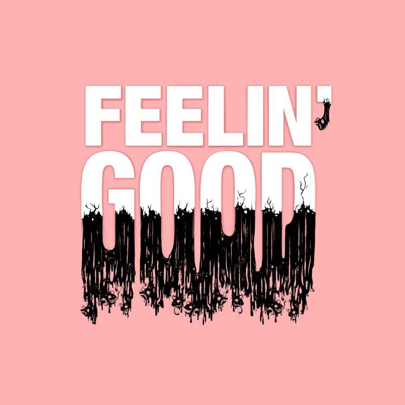 Feelin' Good Men's Pullover Hoody by jublin's Artist Shop