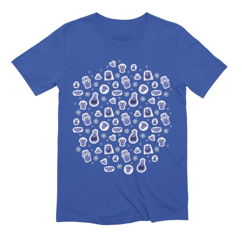 Yeti Set Go Men's T-Shirt by jublin's Artist Shop