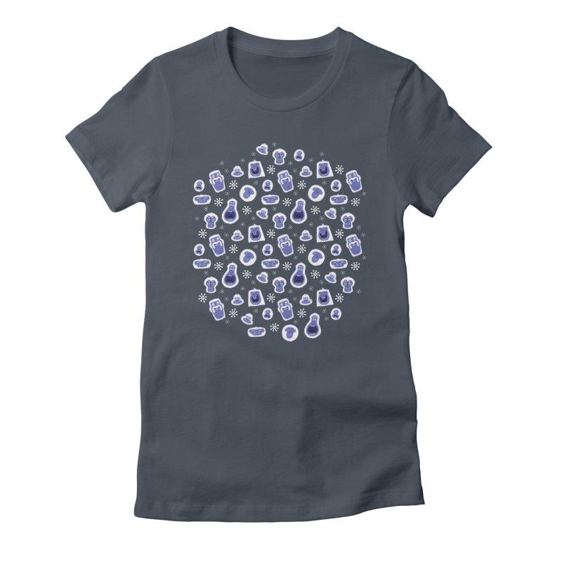 Yeti Set Go Women's T-Shirt by jublin's Artist Shop