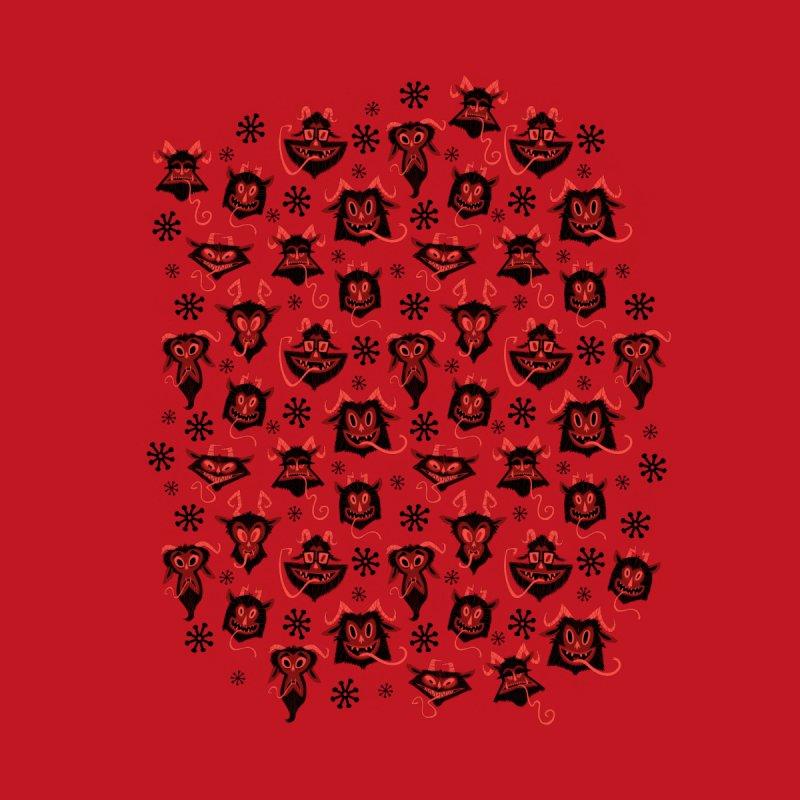 Merry Krampus Kids T-Shirt by jublin's Artist Shop