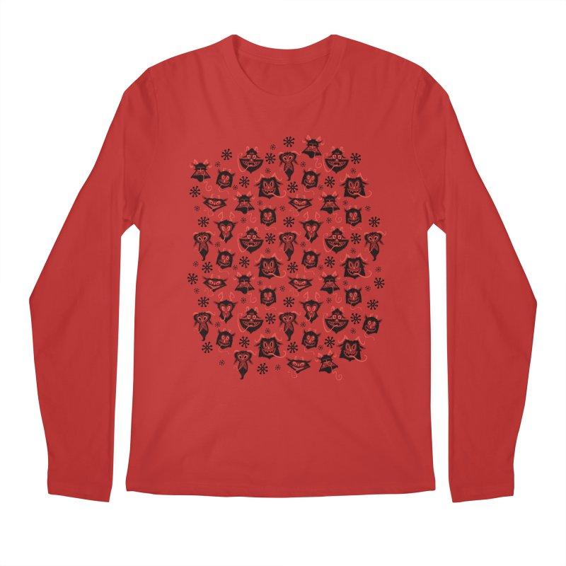 Merry Krampus Men's Longsleeve T-Shirt by jublin's Artist Shop