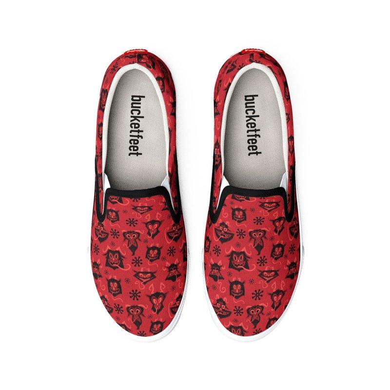 Merry Krampus Women's Shoes by jublin's Artist Shop
