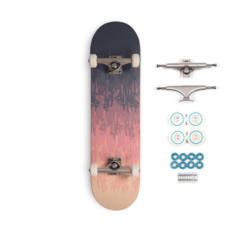 Morning Meltdown Accessories Skateboard by jublin's Artist Shop
