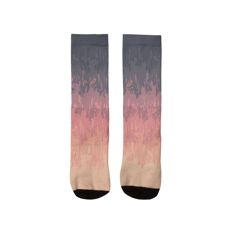 Morning Meltdown Women's Socks by jublin's Artist Shop