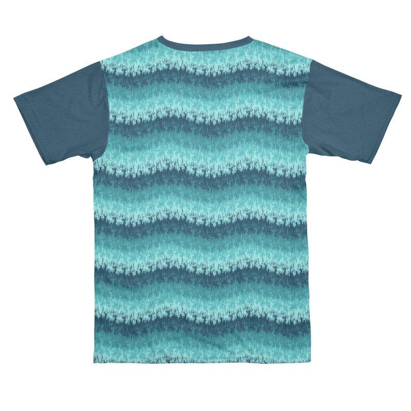 Ocean Meltdown Men's Cut & Sew by jublin's Artist Shop