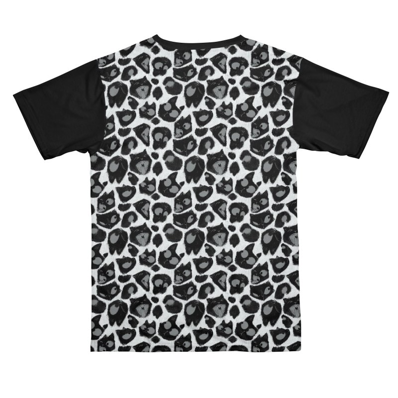 Snow Leopard Print (Made of Cats) Men's Cut & Sew by jublin's Artist Shop
