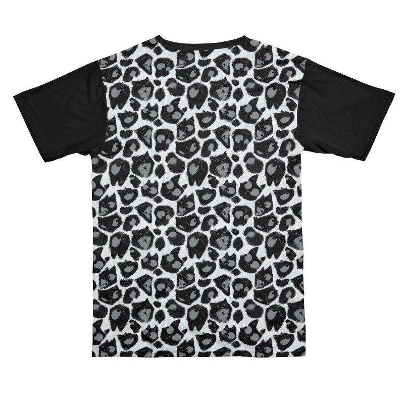 Snow Leopard Print (Made of Cats) Women's Cut & Sew by jublin's Artist Shop