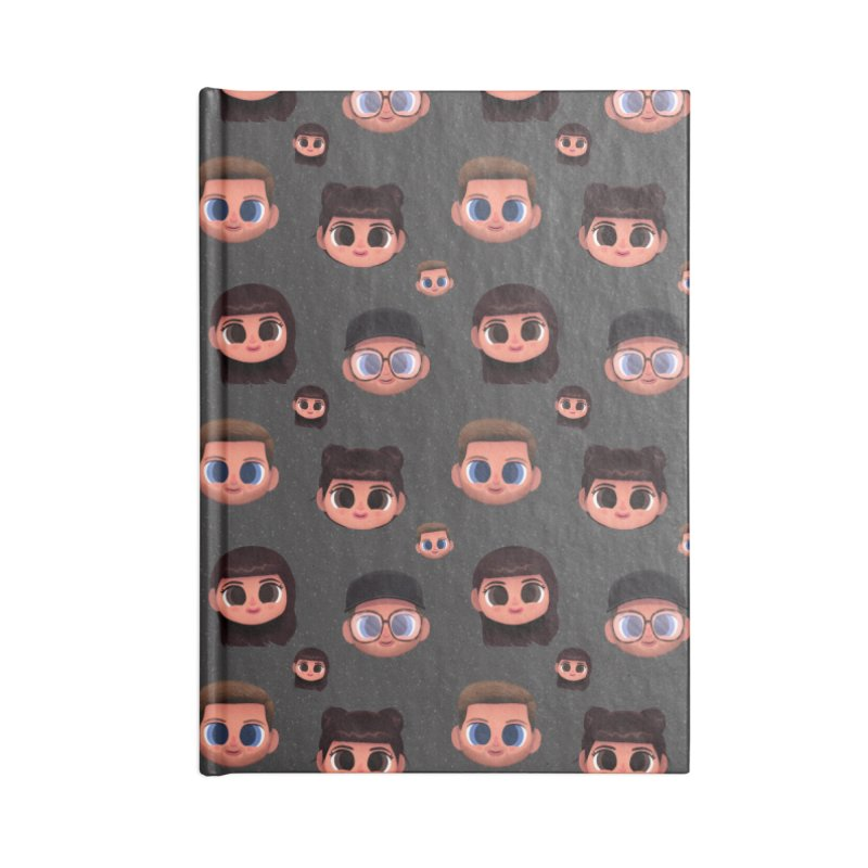 Raquel BF on Grey Accessories Notebook by jublin's Artist Shop