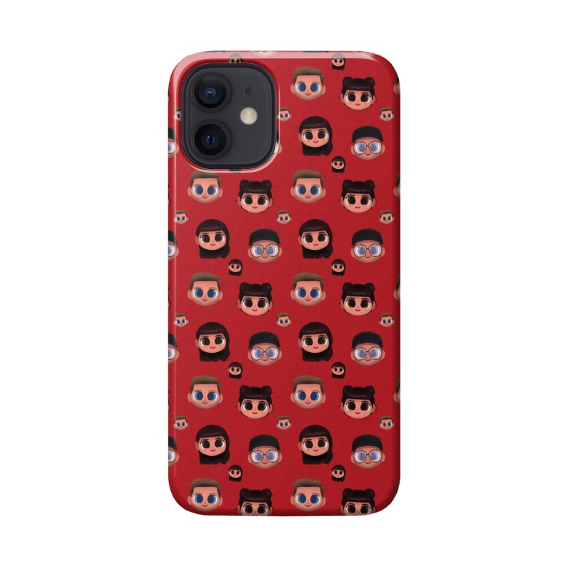 Raquel BF on Red Accessories Phone Case by jublin's Artist Shop