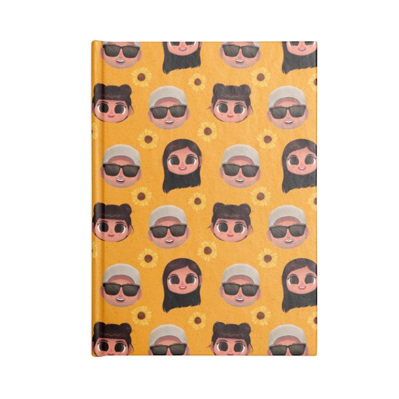 Raquel Sister & Dad Accessories Notebook by jublin's Artist Shop