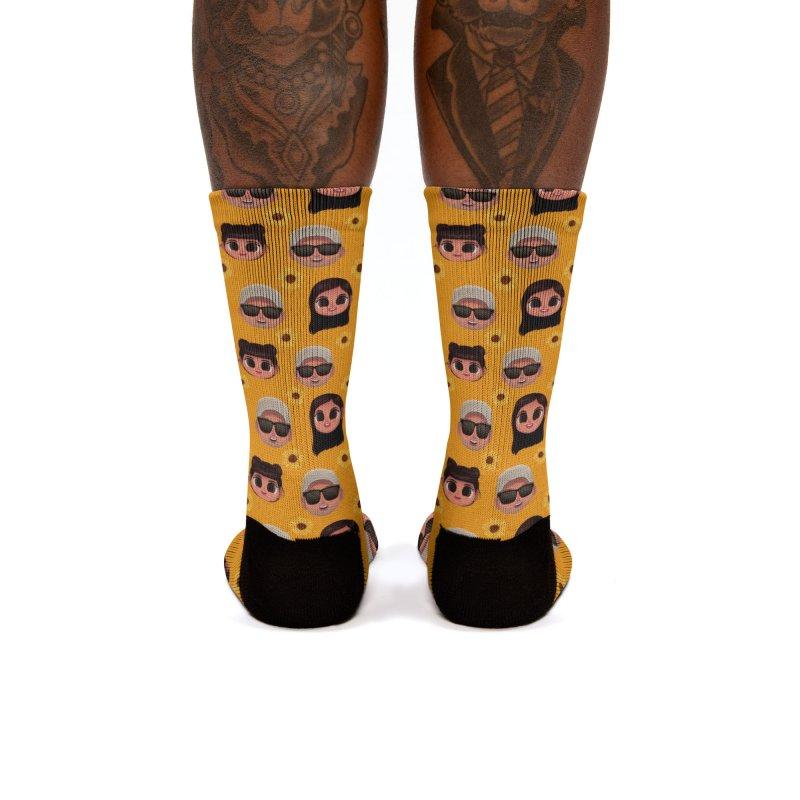 Raquel Sister & Dad Women's Socks by jublin's Artist Shop