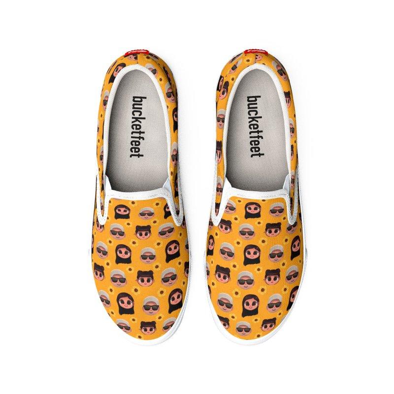 Raquel Sister & Dad Men's Shoes by jublin's Artist Shop