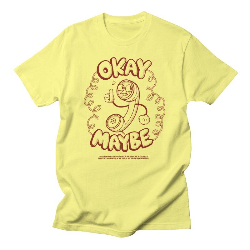 Making Plans Men's T-Shirt by jublin's Artist Shop