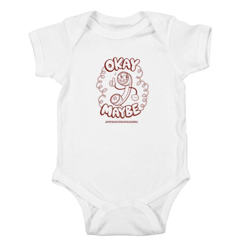 Making Plans Kids Baby Bodysuit by jublin's Artist Shop