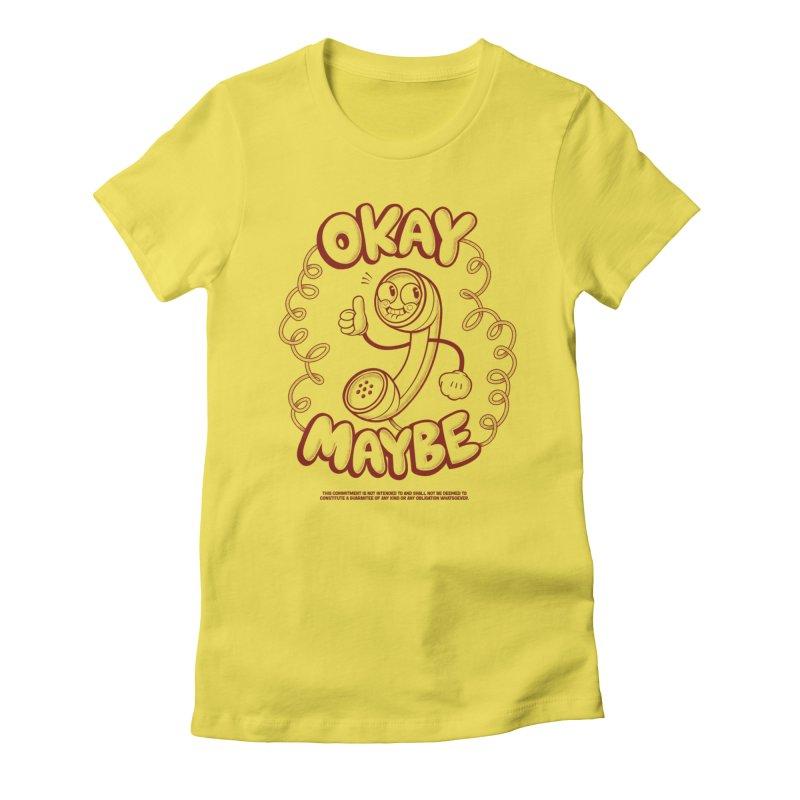 Making Plans Women's T-Shirt by jublin's Artist Shop