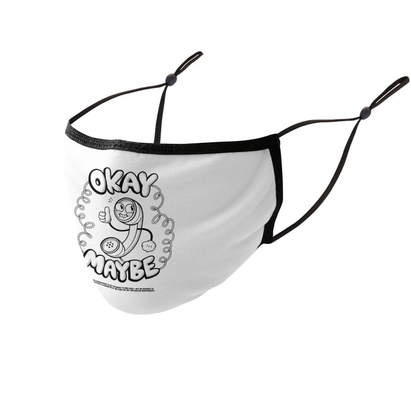 Making Plans (Black Ink) Accessories Face Mask by jublin's Artist Shop