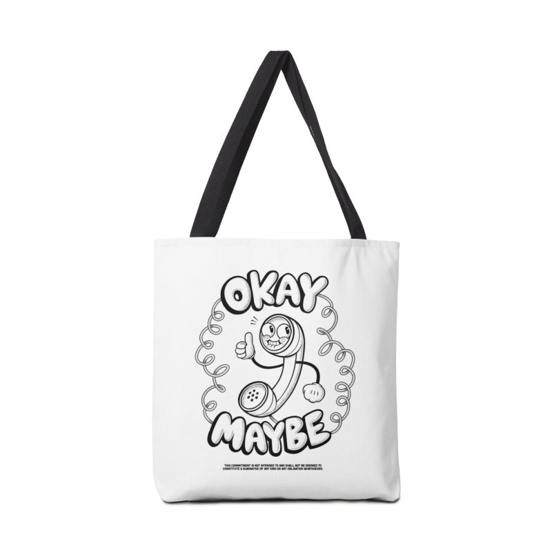 Making Plans (Black Ink) Accessories Bag by jublin's Artist Shop