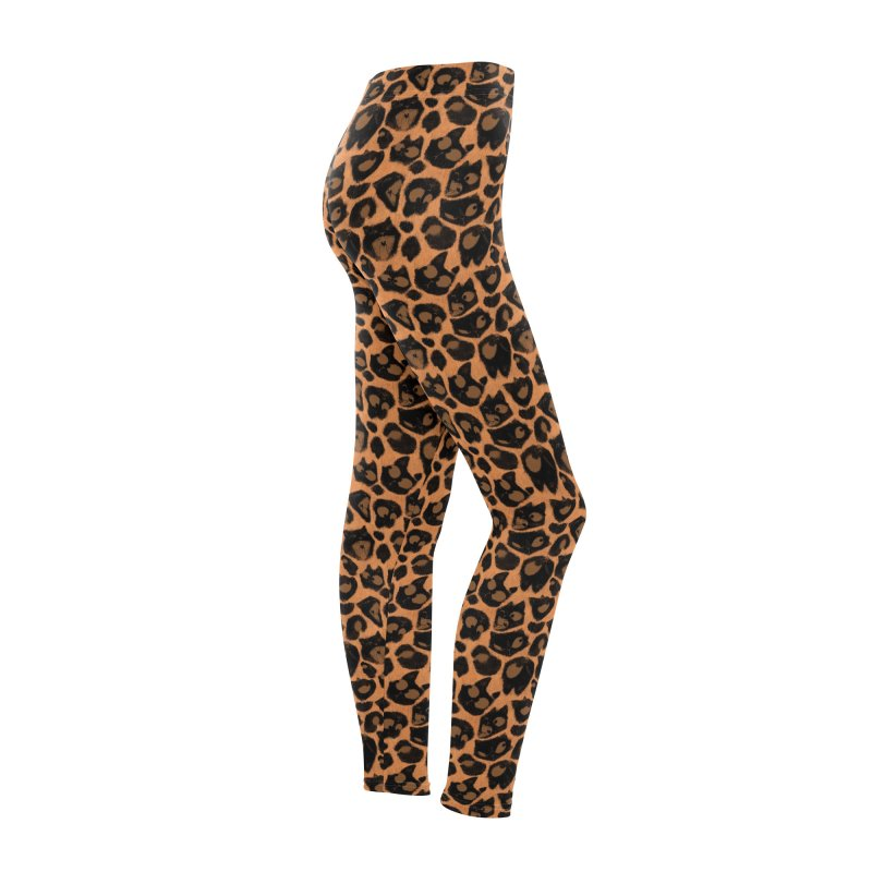 Leopard Print (Made of Cats) Women's Bottoms by jublin's Artist Shop