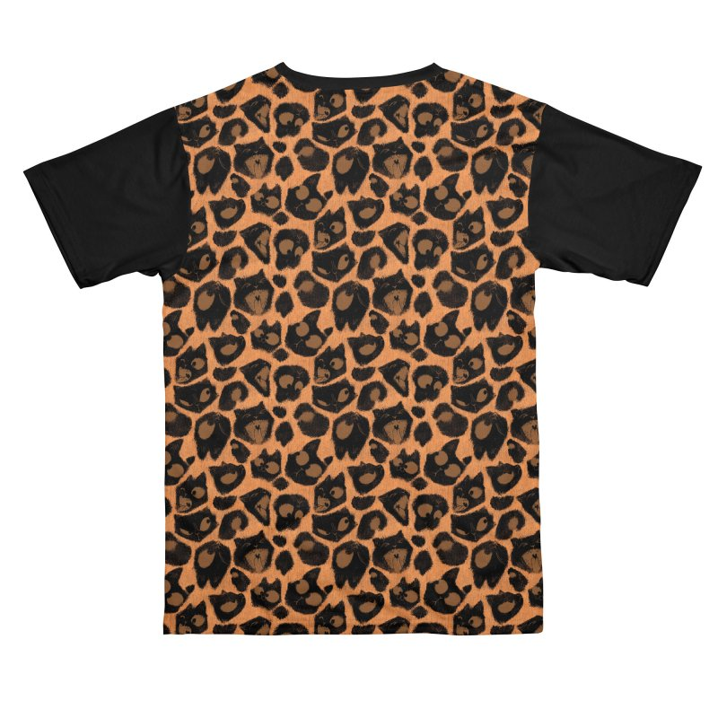 Leopard Print (Made of Cats) Men's Cut & Sew by jublin's Artist Shop
