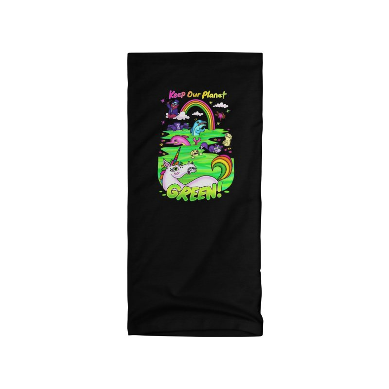 Keep Our Planet Green Accessories Neck Gaiter by jublin's Artist Shop