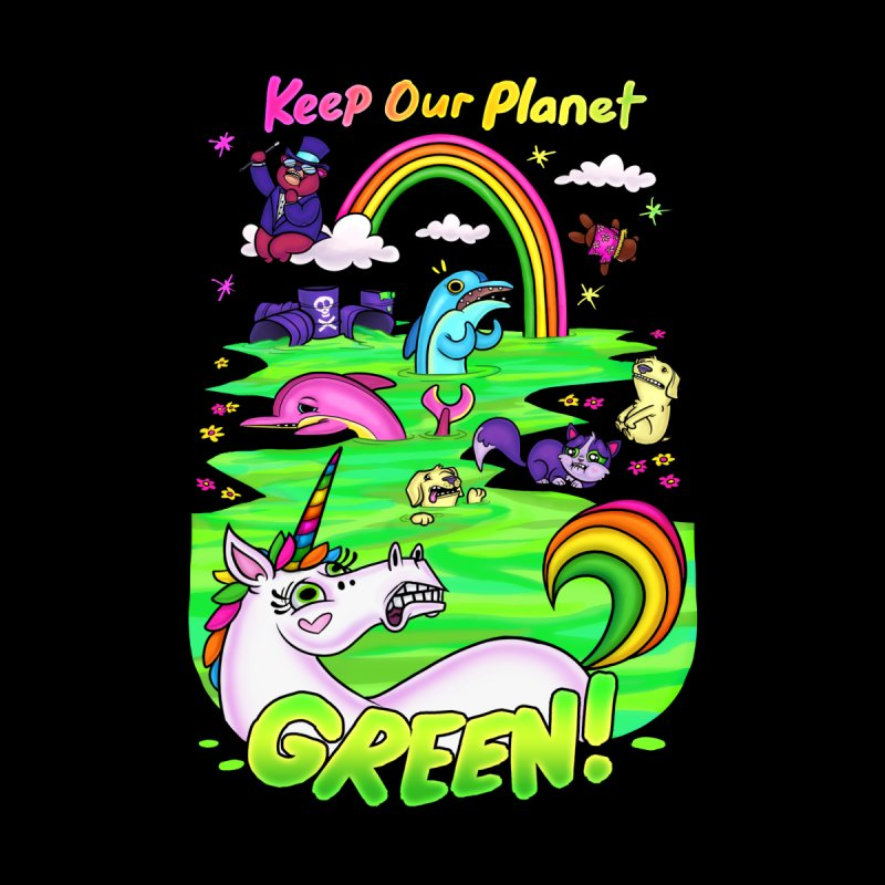 Keep Our Planet Green Accessories Face Mask by jublin's Artist Shop