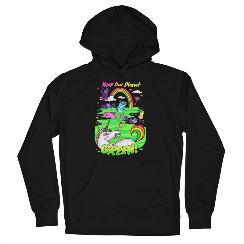 Keep Our Planet Green Women's Pullover Hoody by jublin's Artist Shop