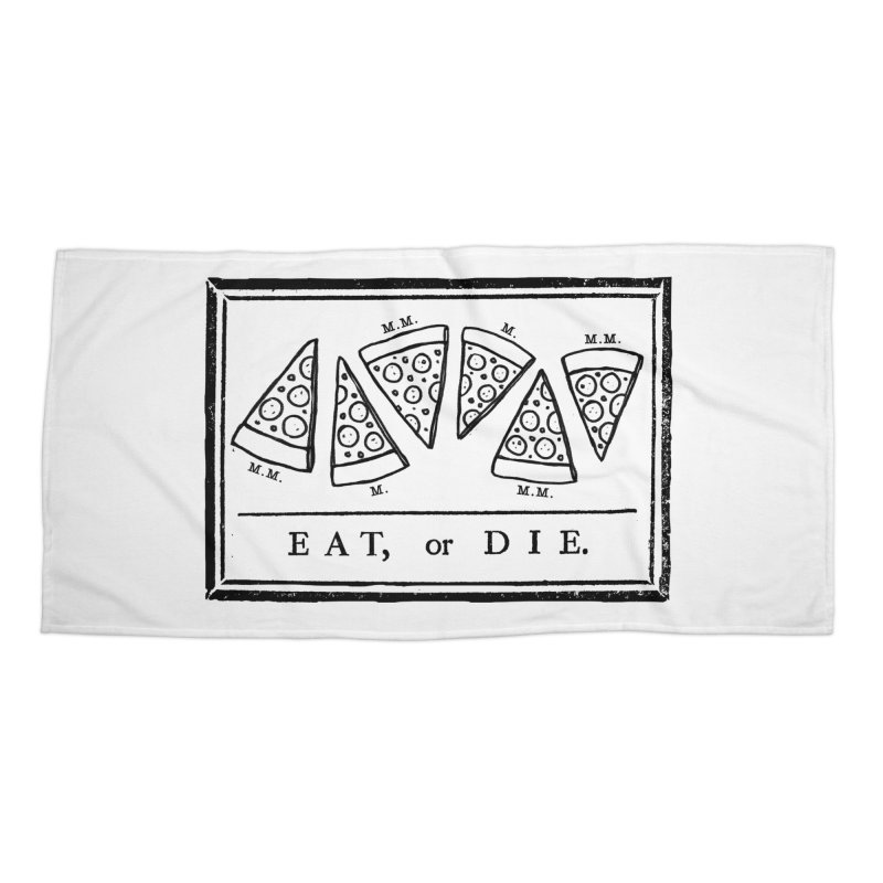 Eat or Die (black)   by jublin's Artist Shop