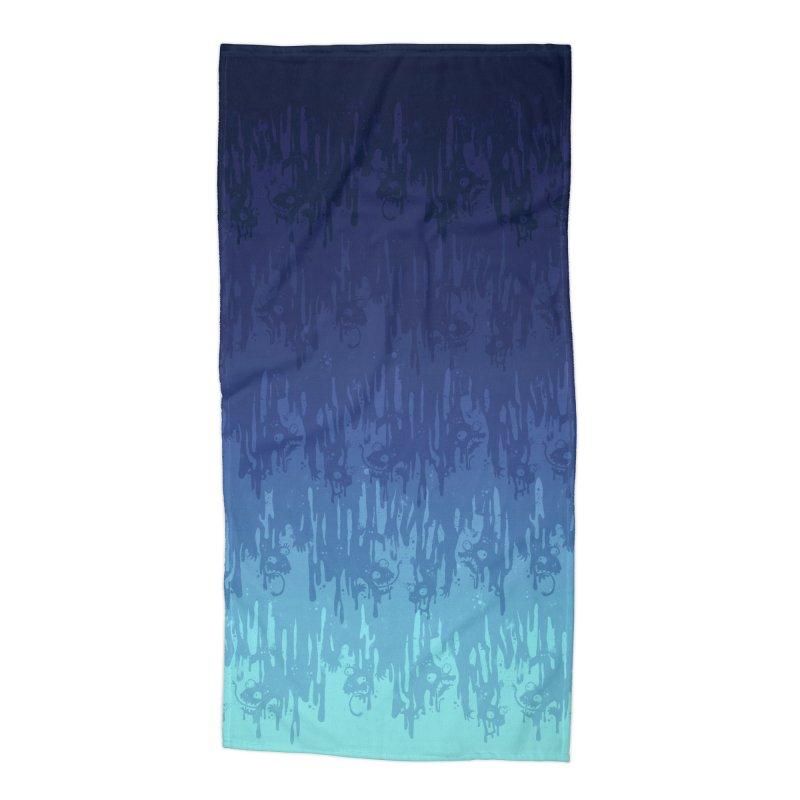Cool Meltdown Accessories Beach Towel by jublin's Artist Shop