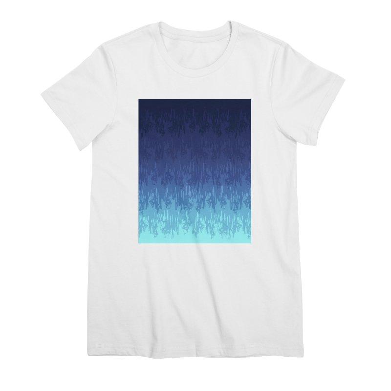 Cool Meltdown Women's T-Shirt by jublin's Artist Shop