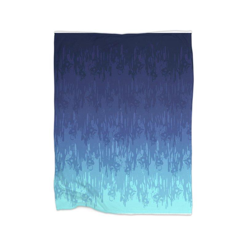 Cool Meltdown Home Blanket by jublin's Artist Shop