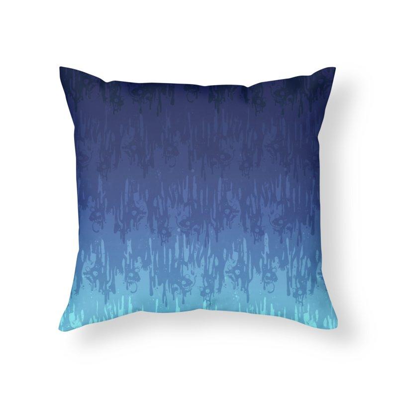 Cool Meltdown Home Throw Pillow by jublin's Artist Shop