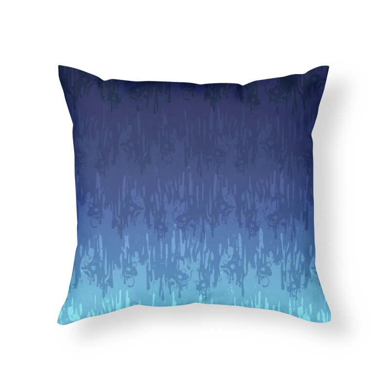 Cool Meltdown Home Throw Pillow by jublin's Artist Shop