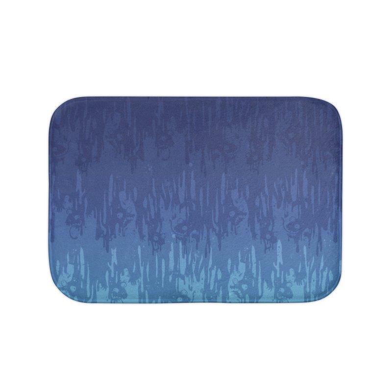 Cool Meltdown Home Bath Mat by jublin's Artist Shop