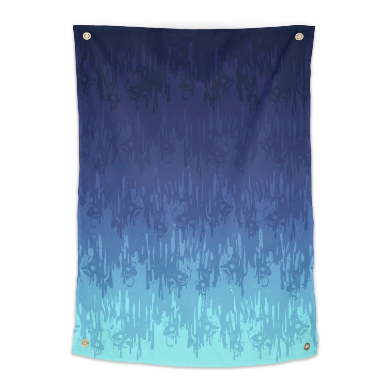 Cool Meltdown Home Tapestry by jublin's Artist Shop