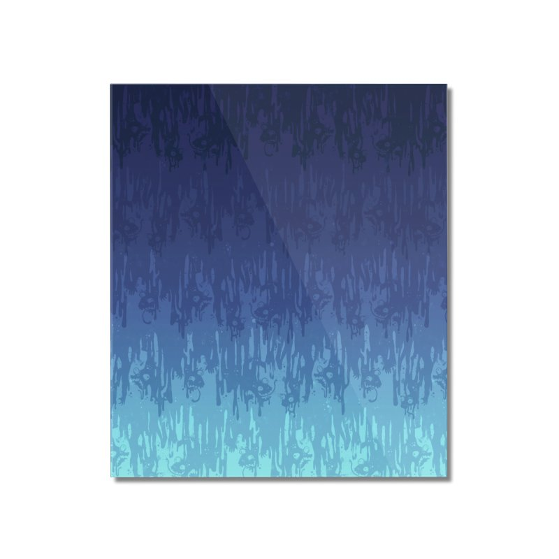 Cool Meltdown Home Mounted Acrylic Print by jublin's Artist Shop
