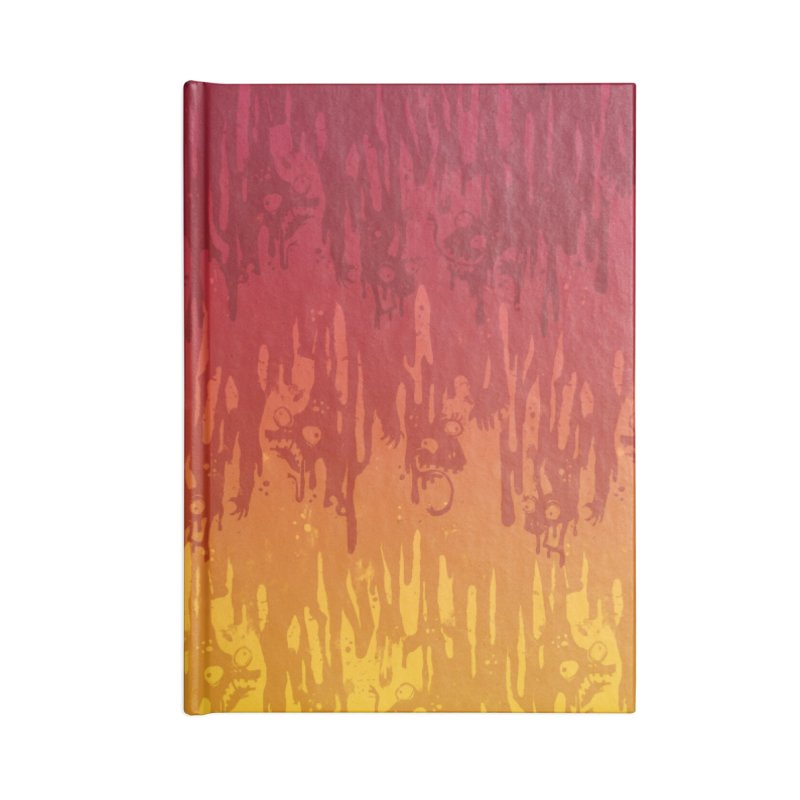 Hot Meltdown Accessories Notebook by jublin's Artist Shop