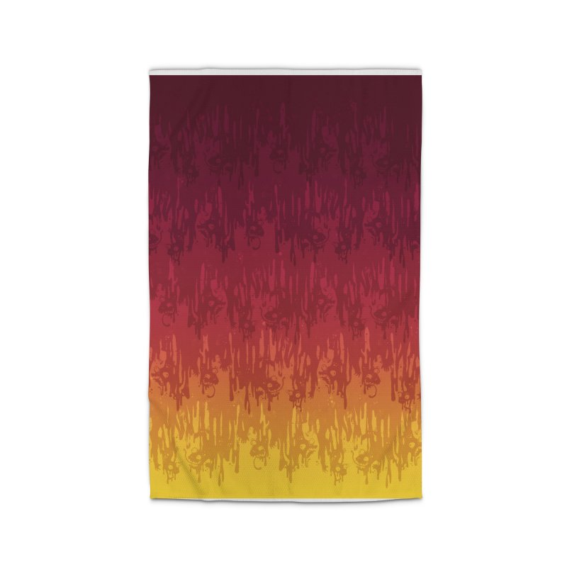 Hot Meltdown Home Rug by jublin's Artist Shop