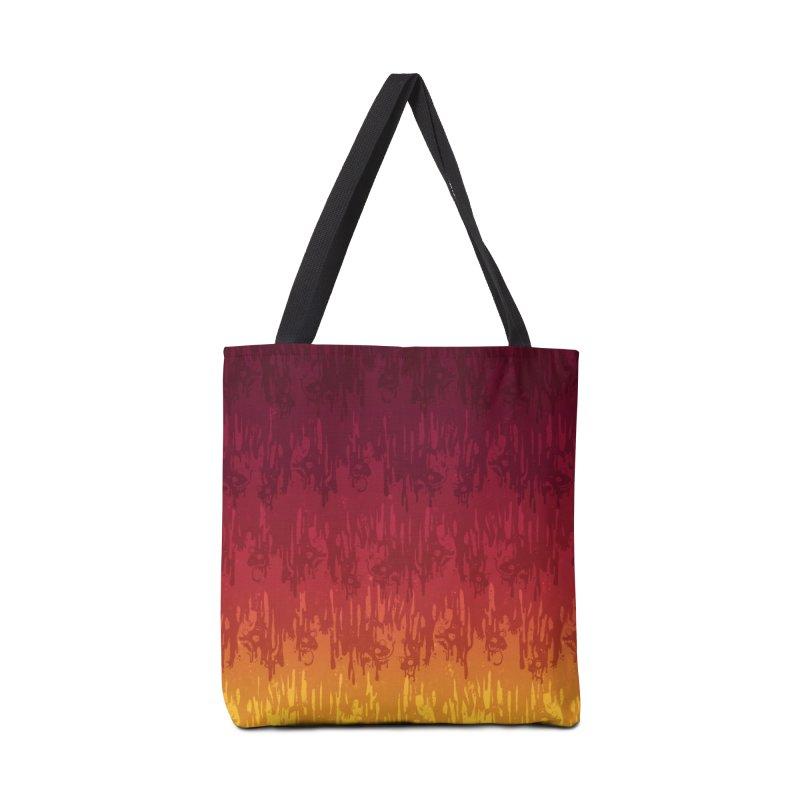 Hot Meltdown Accessories Bag by jublin's Artist Shop