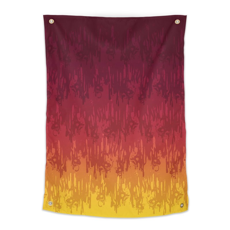 Hot Meltdown Home Tapestry by jublin's Artist Shop