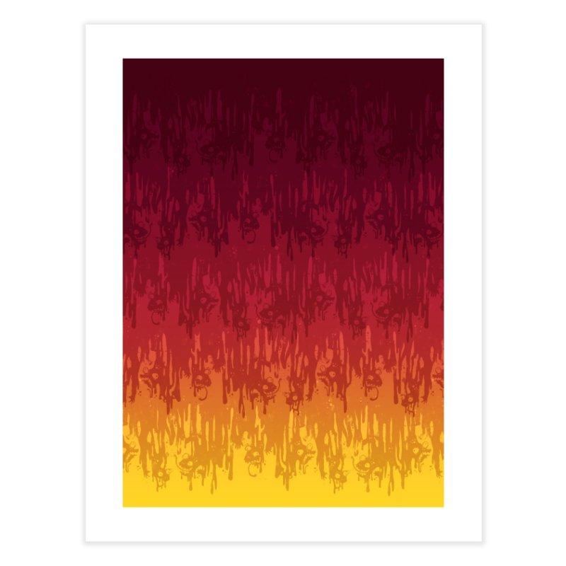 Hot Meltdown Home Fine Art Print by jublin's Artist Shop