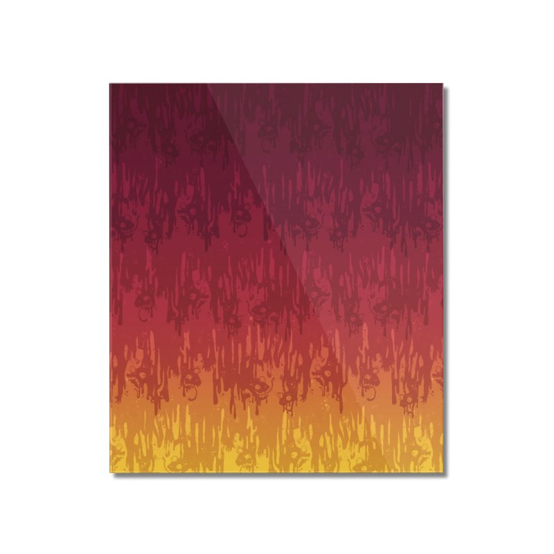 Hot Meltdown Home Mounted Acrylic Print by jublin's Artist Shop