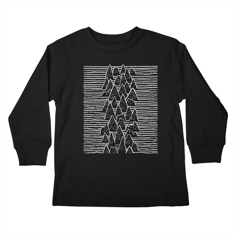 Pizza Division Kids Longsleeve T-Shirt by jublin's Artist Shop