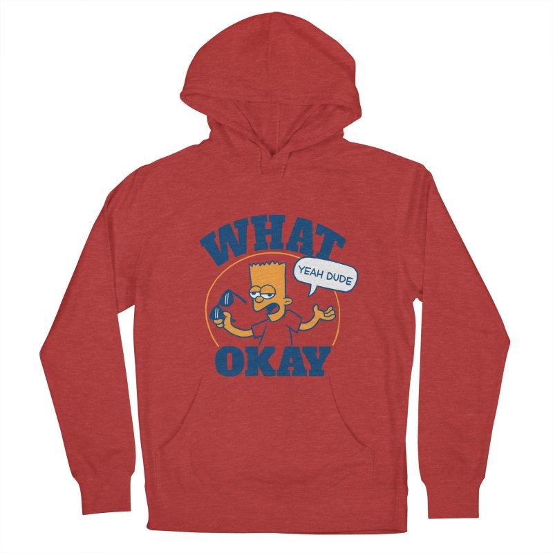 What Okay Women's Pullover Hoody by jublin's Artist Shop