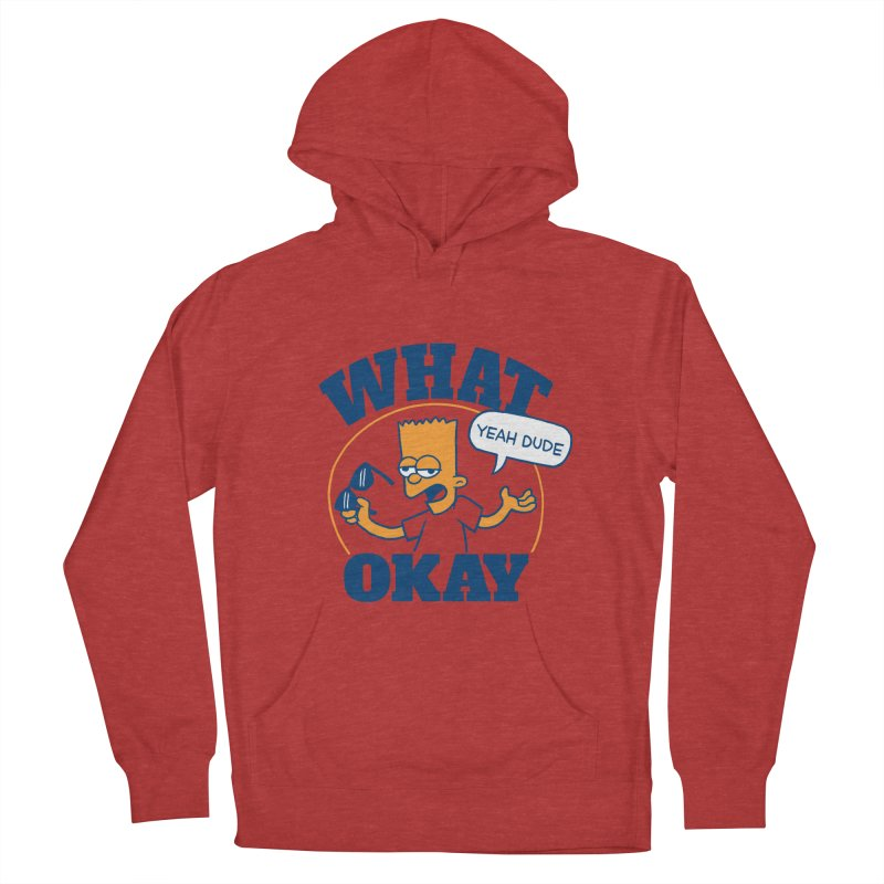 What Okay Men's Pullover Hoody by jublin's Artist Shop